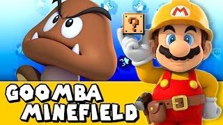 Super Mario Maker #3 - Goomba Minefield!