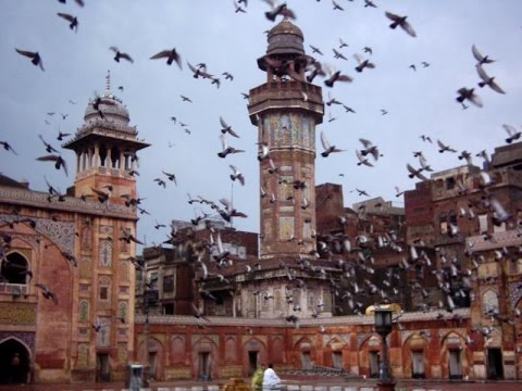 Lahore, city in Pakistan, beautiful buildings, factory, mosque ,university, houses, estate