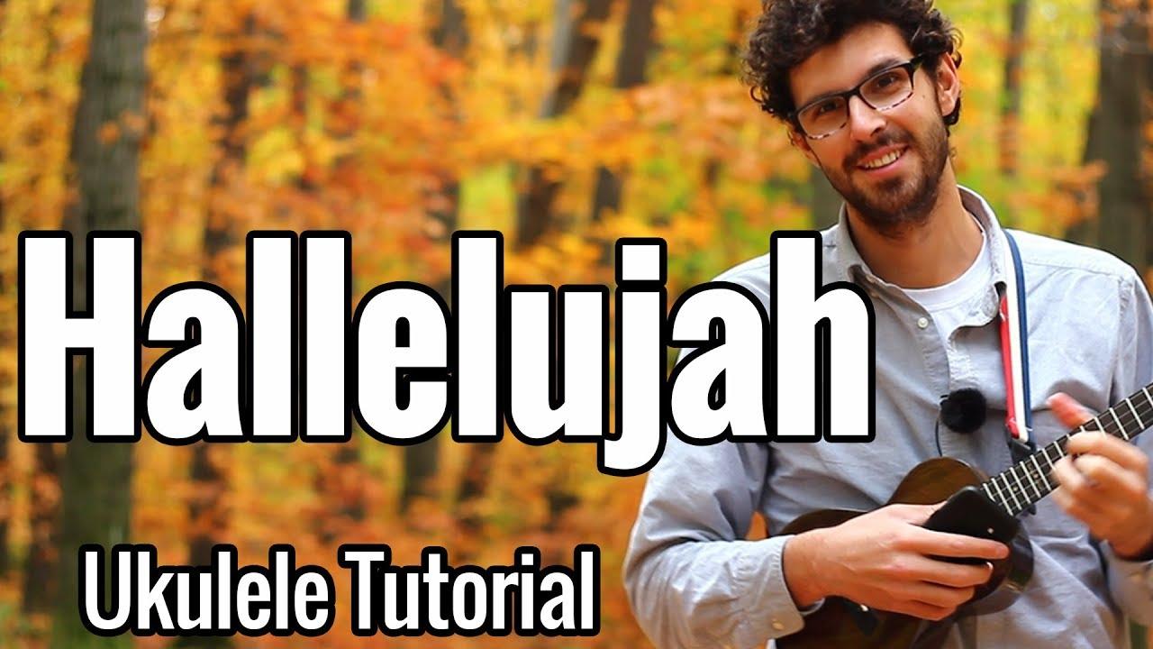 Hallelujah - Ukulele Tutorial With Picking Play Along ...