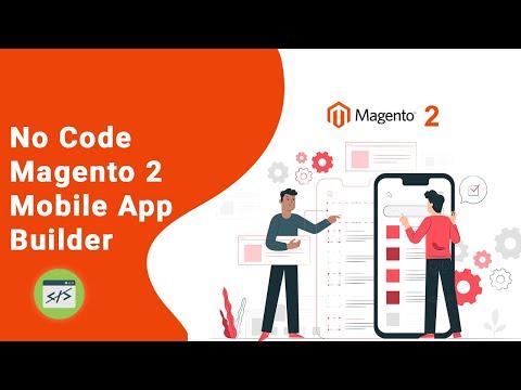 Magento 2 eCommerce Mobile App Builder