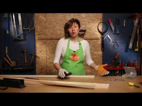 Как самому сделать вешалку для одежды напольную