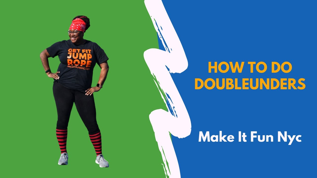 How to do jump rope doubleunders