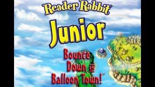 Reader Rabbit Junior: Bounce Down in Balloon Town (PC) Full Walkthrough