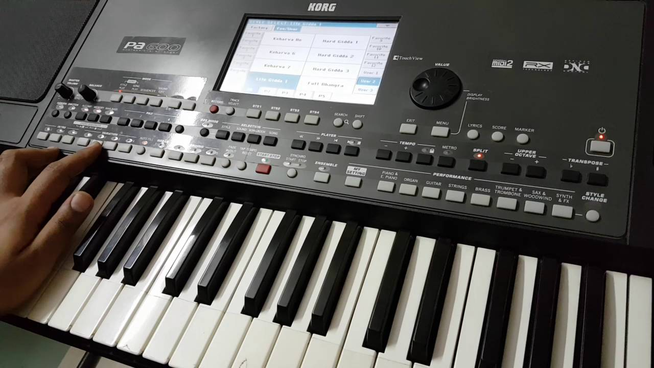 korg PA new indian styles demo -9033773457