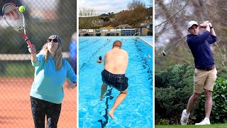 video: 'It's lovely to be out and about': England begins its return to normal as Covid restrictions ease