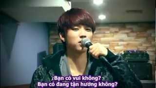 [vietsub] INFINITE Second Invasion Making DVD 3/7 - Woohyun cut