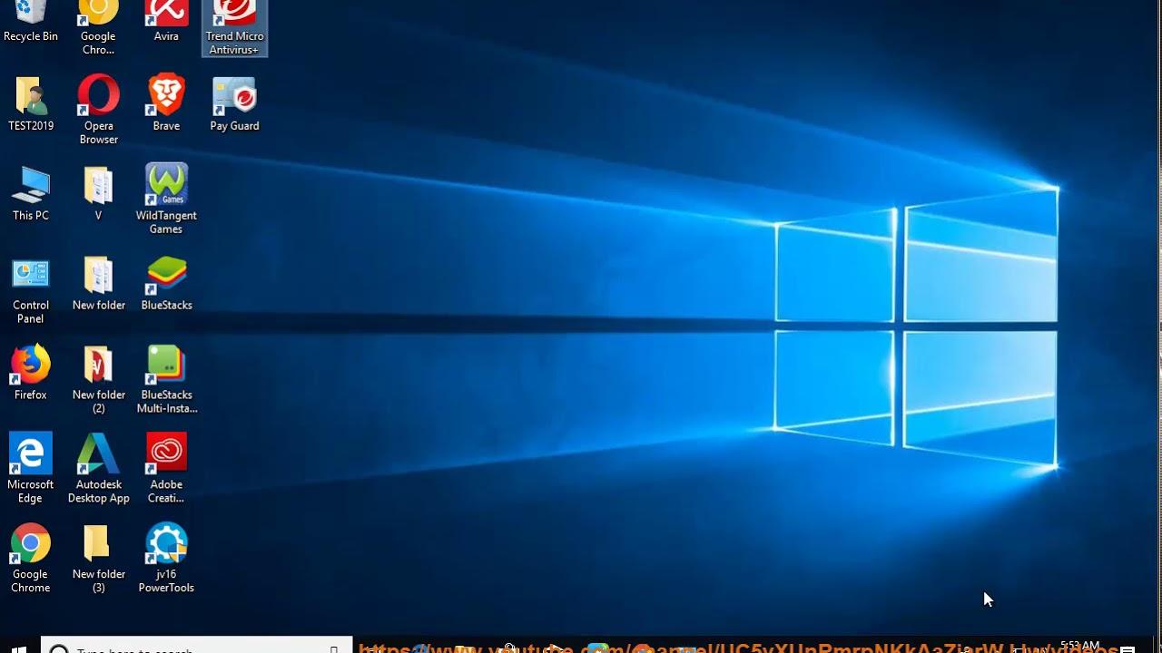 Uninstall Trend Micro Antivirus+ Security 2019 in Windows 10 v1809