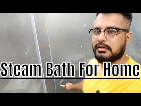 Austin Steam Bath Generator How To Install ? (Unbox) Review - Hindi