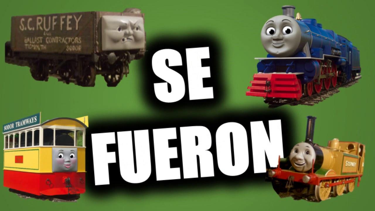 Personajes Olvidados De Thomas Y Sus Amigos Parte 3 Youtube