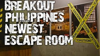 "Surviving Breakout Philippines ""Hide & Seek"" Escape Room 