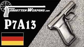 P7A13: H&K's Entry into the US XM9 Pistol Trials