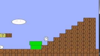 Cat Mario Gameplay and Commentary