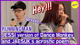 [HOT CLIPS] [RUNNINGMAN] Show Me The Talent! OMG JESSI.. All I can say is..🥇 (ENG SUB)