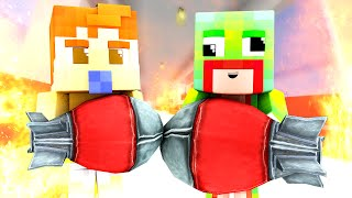 Minecraft | WHO'S YOUR DADDY? BABY BLOWS UP MALL!