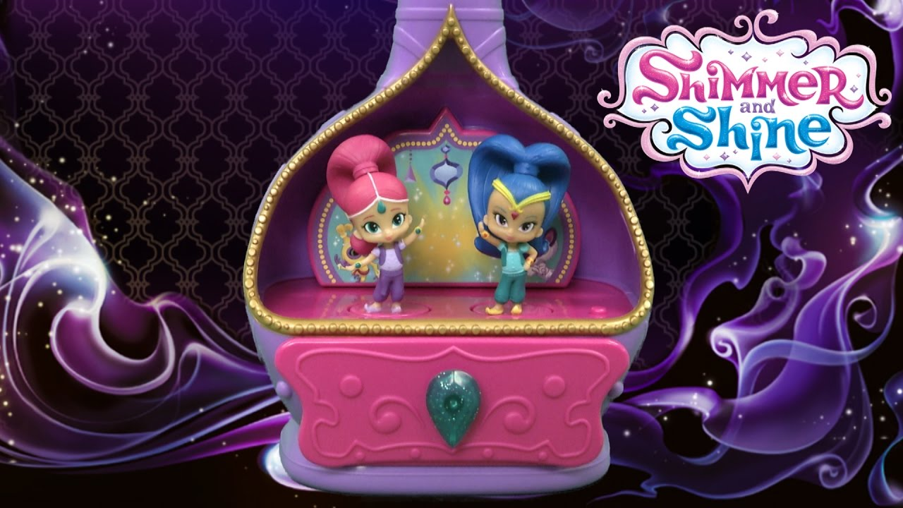 Shimmer and Shine Magic Wishes Jewelry Box from Just Play