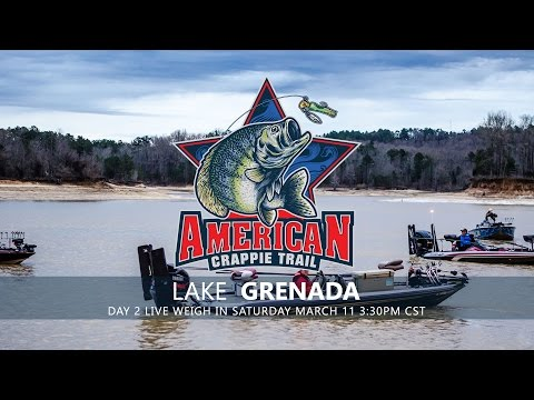 ACT Grenada Lake Day 2 Live Weigh-in