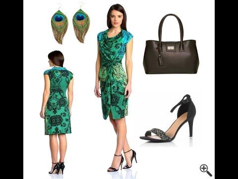 Desigual Kleider SALE mit Blau Grünen Outfit - YouTube