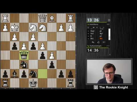 Rapid Chess #18 vs. the brilliance - Van't Kruijs Opening