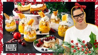 Easy baked cheesecake &amp my cheats Xmas trifle   Marion&#39s Very Merry Christmas Ep 4