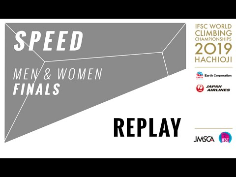 IFSC Climbing World Championships - Hachioji 2019 - SPEED Finals
