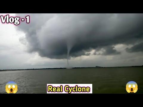 Real cyclone seen by sujon