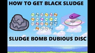 How to get Black Sludge TM Sludge BOMB and Dubious Disc in Pokemon Brick Bronze Roblox
