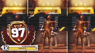 I GOT QUADRUPLE BARRED TO 97 OVERALL DURING GOLD RUSH EVENT! WORST BUILD TO REP UP ON NBA2K19 thumbnail