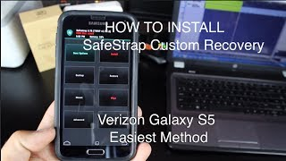 Verizon Galaxy S5 SafeStrap How To Install [Easiest Method]
