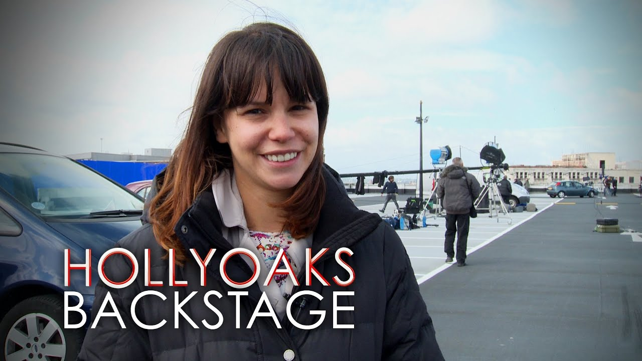 Hollyoaks Behind the Scenes: Nancy Car Crash Stunt