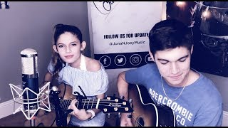 Girls Like You - Maroon 5 Feat. Cardi B (Cover by JunaNJoey) Video