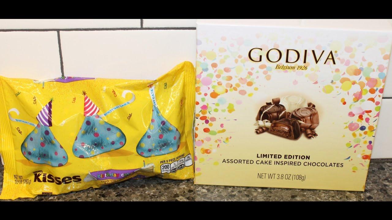 Birthday Cake Godiva Vs Hersheys Kisses Comparison And Review