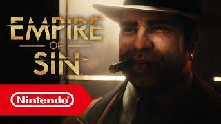 Empire of Sin - E3 2019-Trailer (Nintendo Switch)