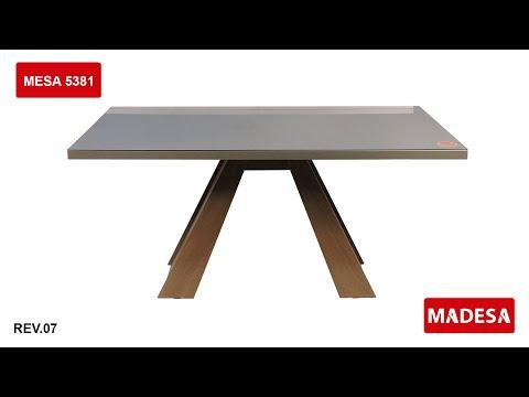 Como Montar A Mesa 5381 - Madesa Móveis