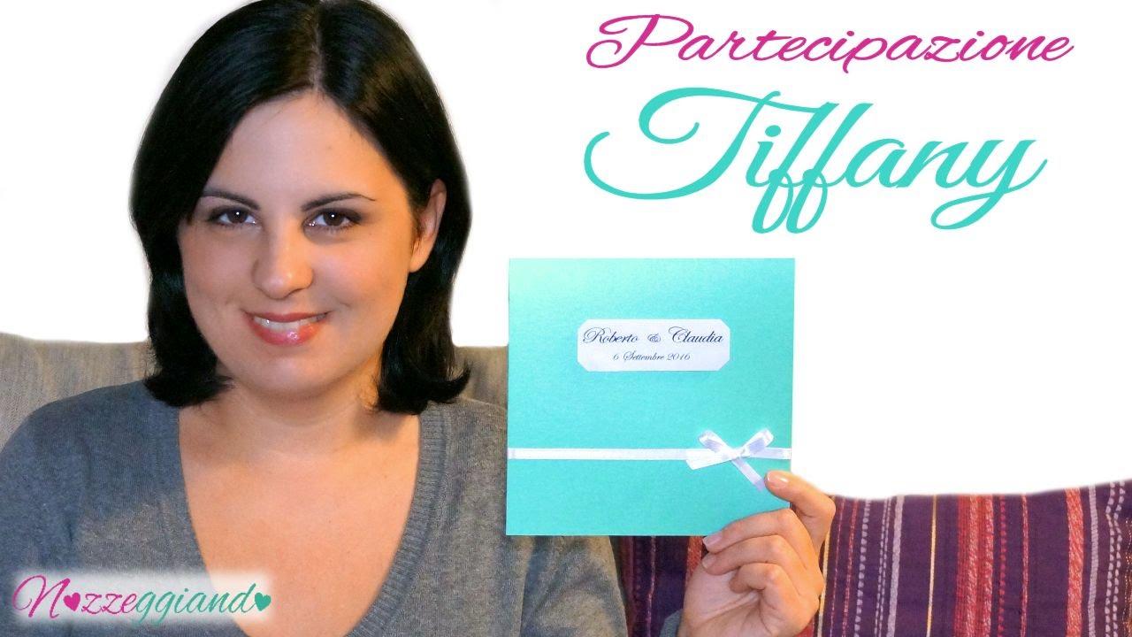 Partecipazioni Matrimonio Youtube.Partecipazioni Nozze Tiffany Tutorial Matrimonio Fai Da Te