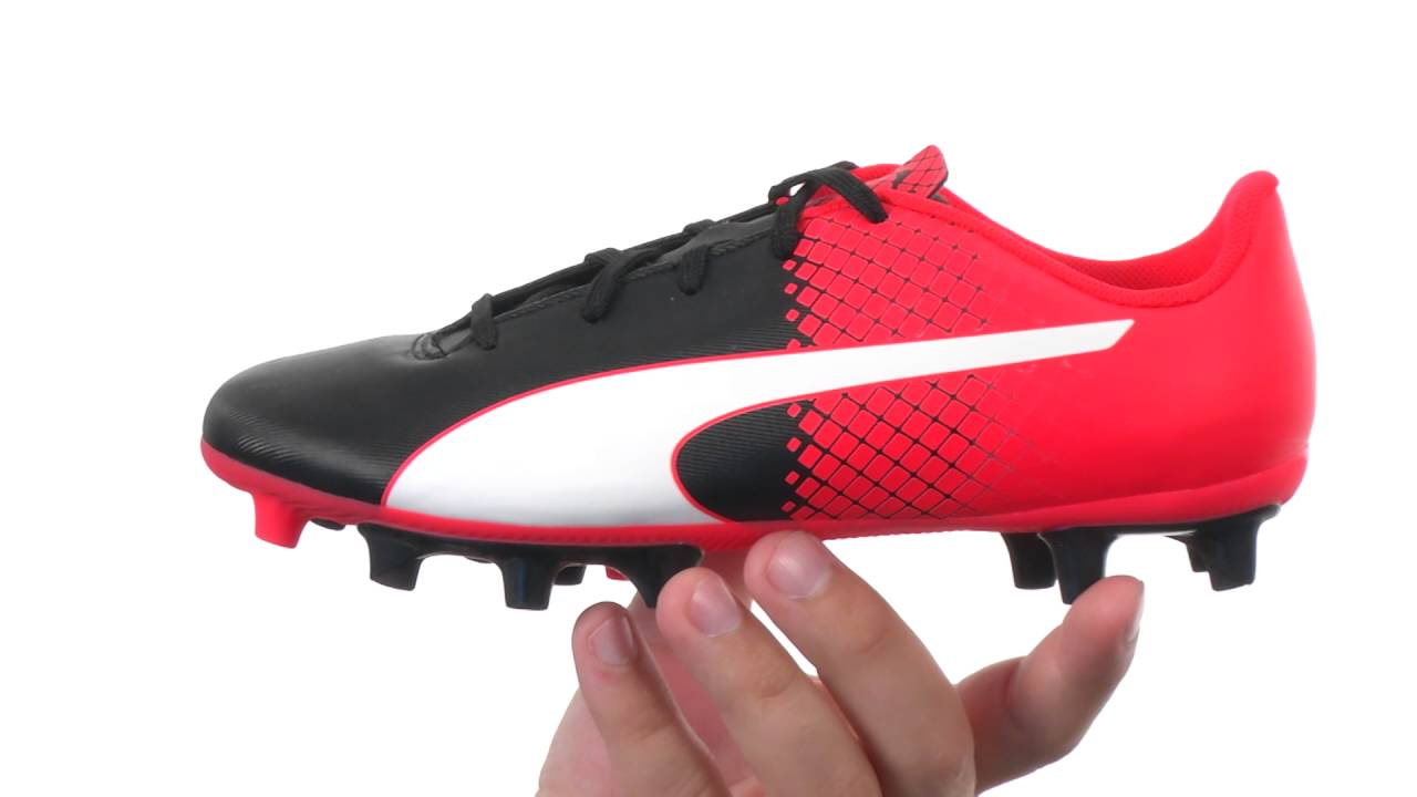 ab4ee65bf Puma Kids evoSPEED 5.5 FG Jr Soccer (Little Kid/Big Kid) SKU:8709377 ...