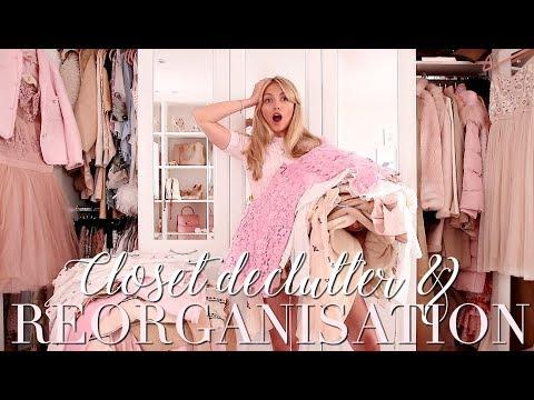 My BIGGEST Closet Declutter & Reorganisation EVER! ~ Freddy My Love
