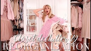 My BIGGEST Closet Declutter & Reorganisation EVER! ~ Freddy My Love