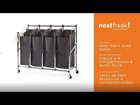 Neatfreak Easy Reach Quad Sorter Assembly Instructions Style 3115