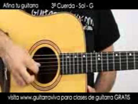 Afinador de Guitarra ElectroAcustica