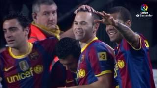 Resumen de FC Barcelona vs Real Sociedad (5-0) 2010/2011