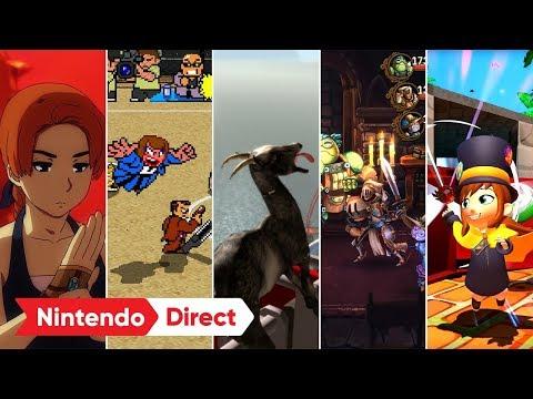 個性派ソフト続々! ダウンロードソフトラインナップ [Nintendo Direct 2019.2.14]