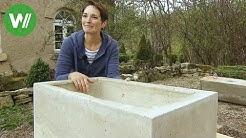 Waschbecken aus Beton - selbst gemacht