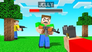 We Added GUNS Into Minecraft! (dangerous)