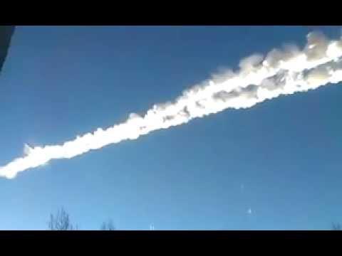 Челябинск (северо-восток) метеорит, вспышка 15.02.13 9:20