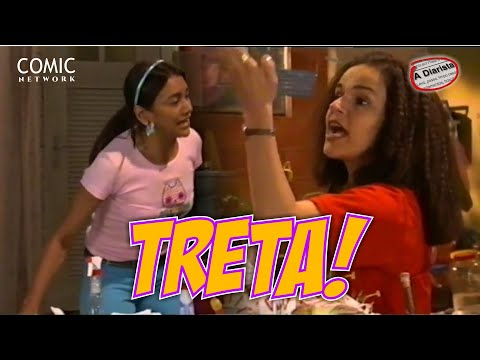 A Diarista   Marinete E Solineuza Brigam No Vídeo Show!