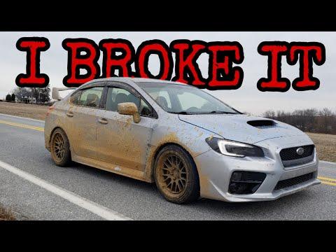 Off-Roading Broke My WRX