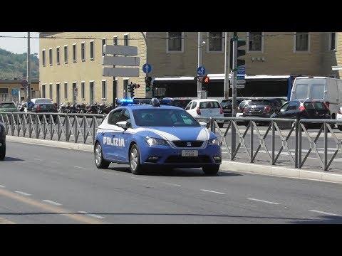 Polizia di Stato in Emergenza / Italian Police Car in Emergency