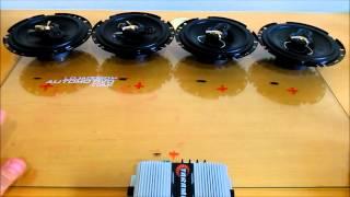 Como Ligar Alto Falante no Módulo Amplificador? 1 ohm 2 ohms 4 ohms 8 ohms