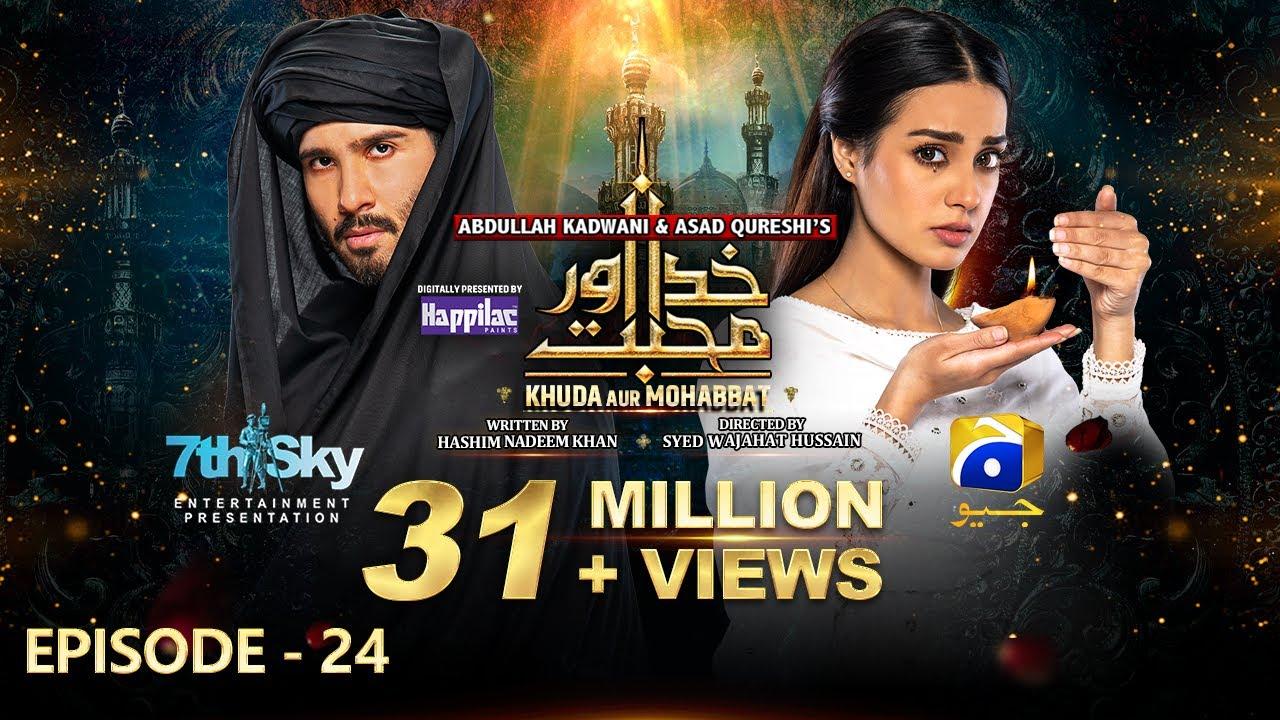 Download Khuda Aur Mohabbat - Season 3 Mega Ep 24 [Eng Sub] Digitally Presented by Happilac Paints 23rd July
