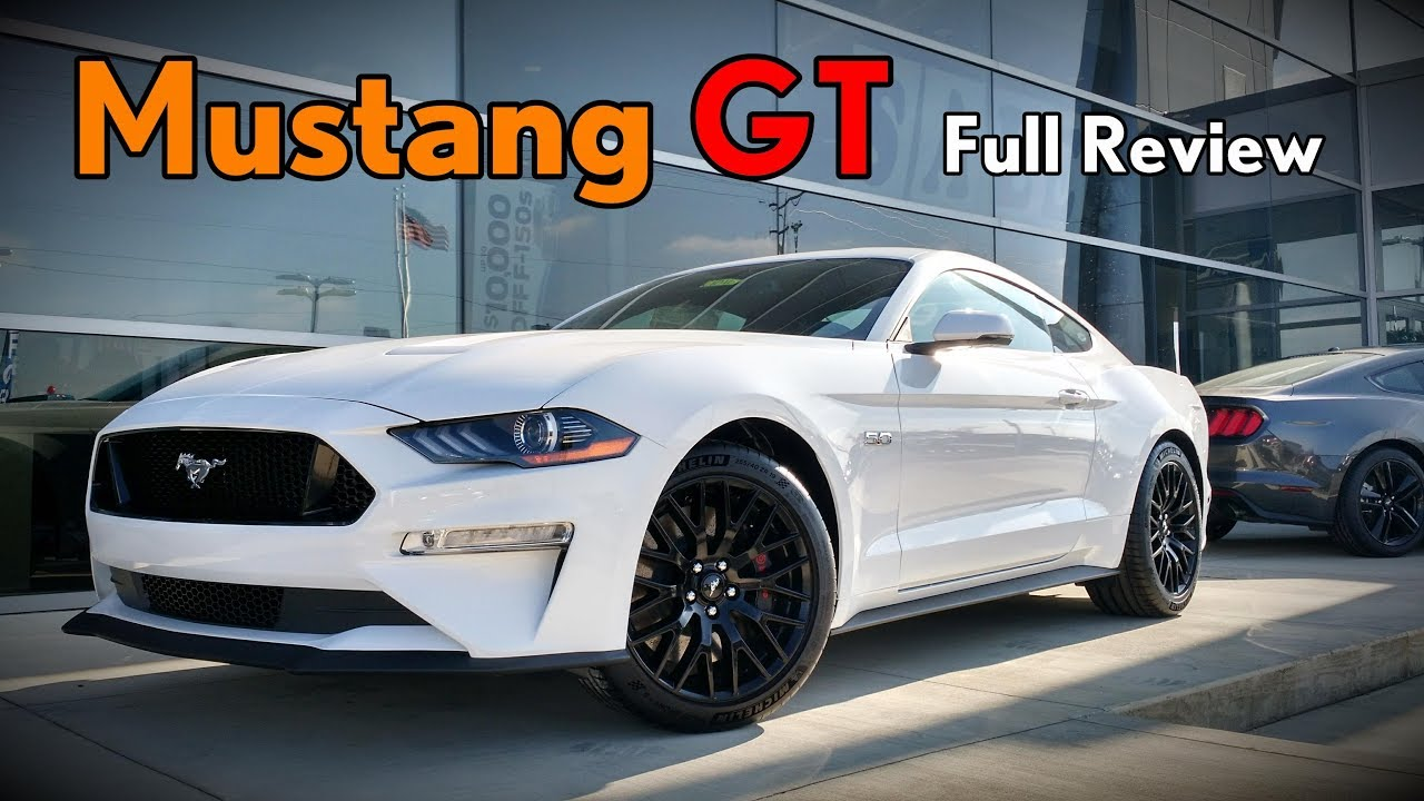 2018 ford mustang gt full review performance package gt premium
